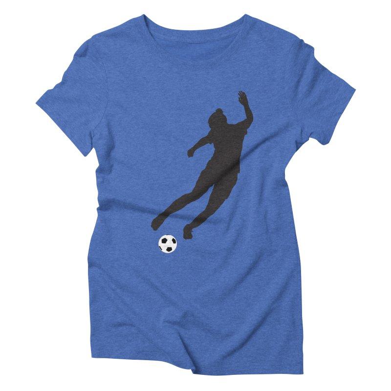 What a Kicker Women's Triblend T-shirt by alrkeaton's Artist Shop