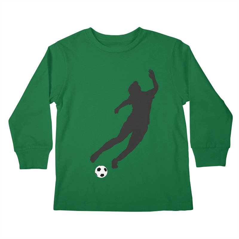 What a Kicker Kids Longsleeve T-Shirt by alrkeaton's Artist Shop