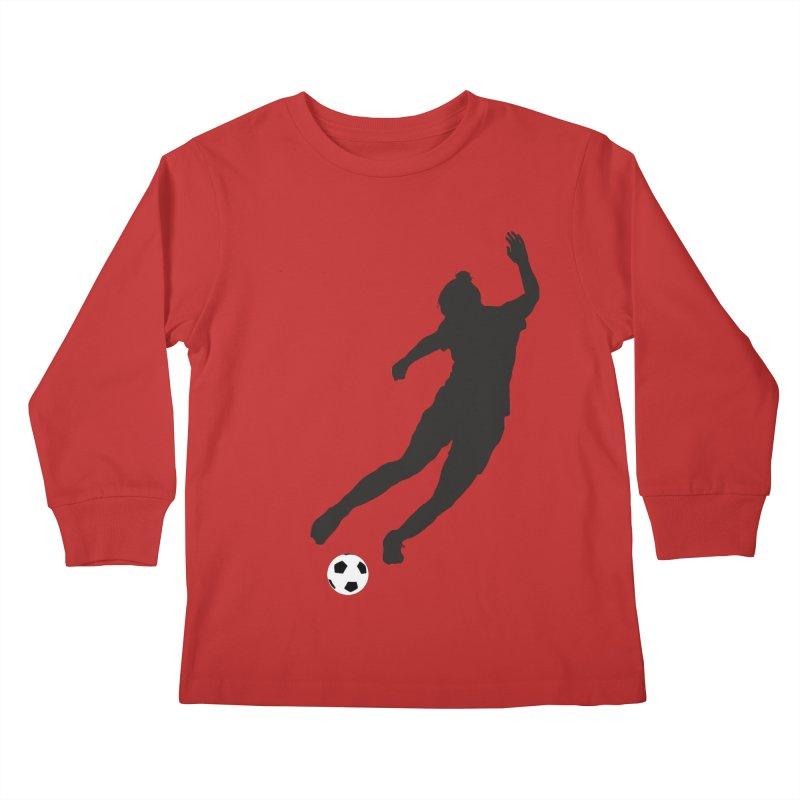 What a Kicker Kids Longsleeve T-Shirt by alrkeaton's Artist Shop