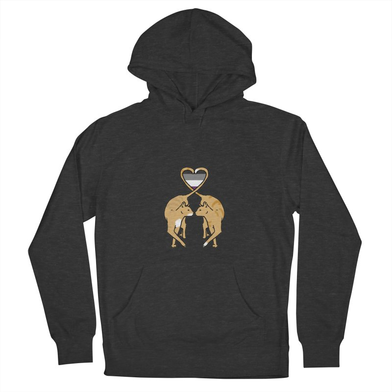 Ace Pride - Love Cats Women's Pullover Hoody by alrkeaton's Artist Shop