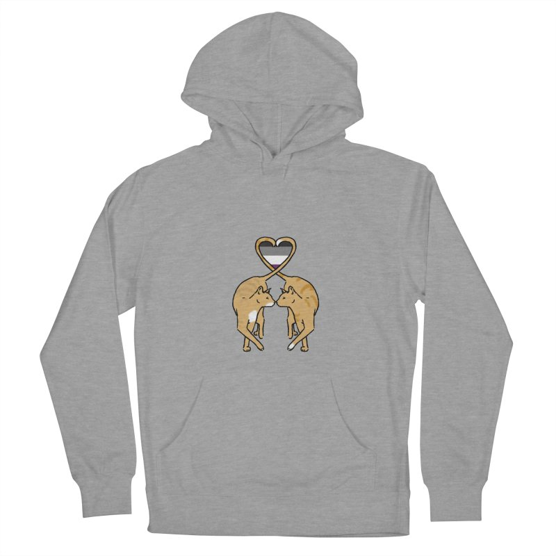 Ace Pride - Love Cats Men's Pullover Hoody by alrkeaton's Artist Shop