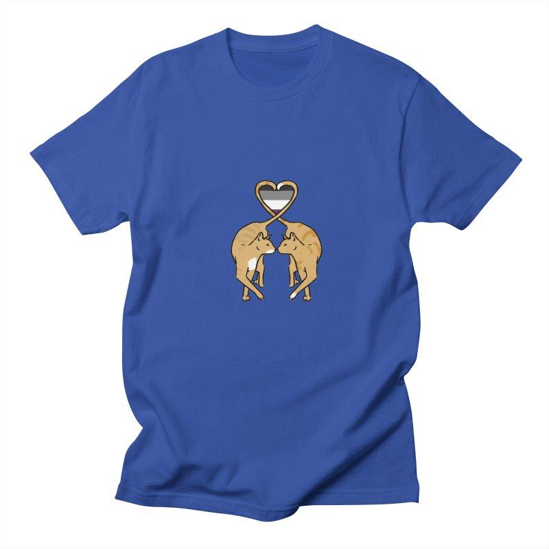 Ace Pride - Love Cats Men's T-Shirt by alrkeaton's Artist Shop