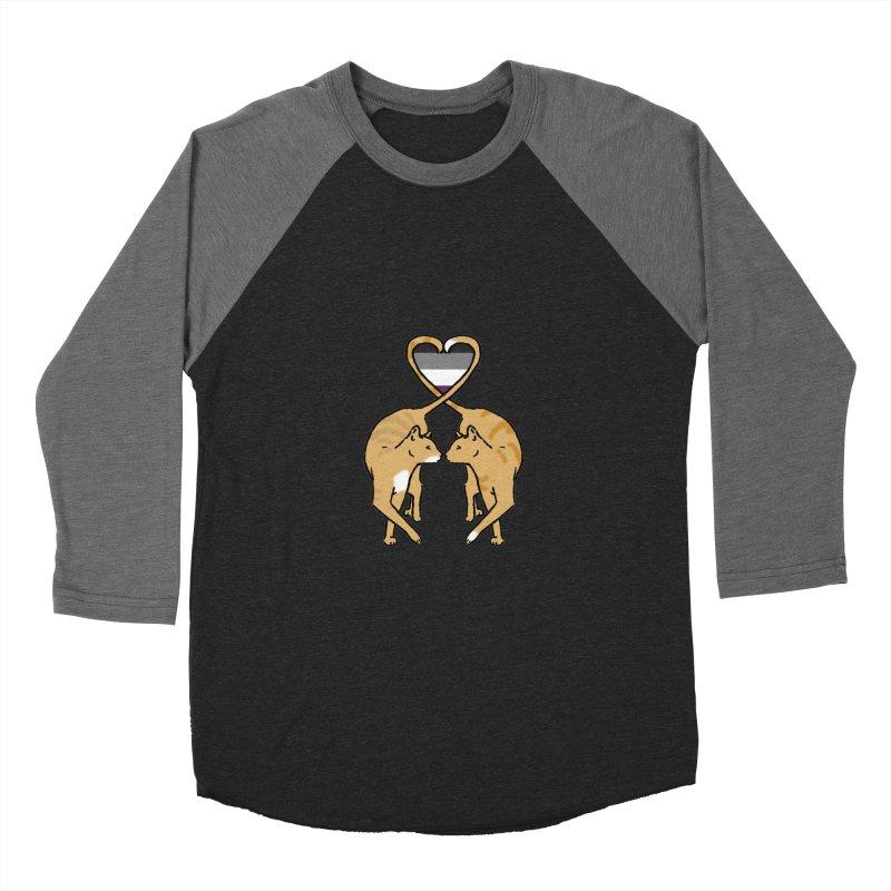 Ace Pride - Love Cats Women's Baseball Triblend Longsleeve T-Shirt by alrkeaton's Artist Shop