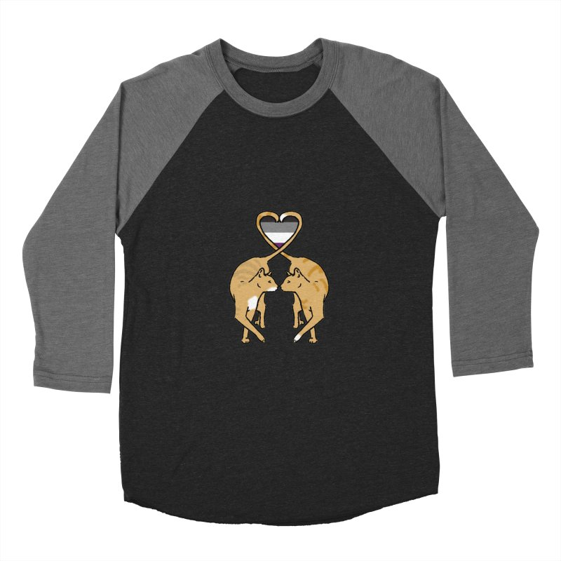 Ace Pride - Love Cats Men's Baseball Triblend T-Shirt by alrkeaton's Artist Shop