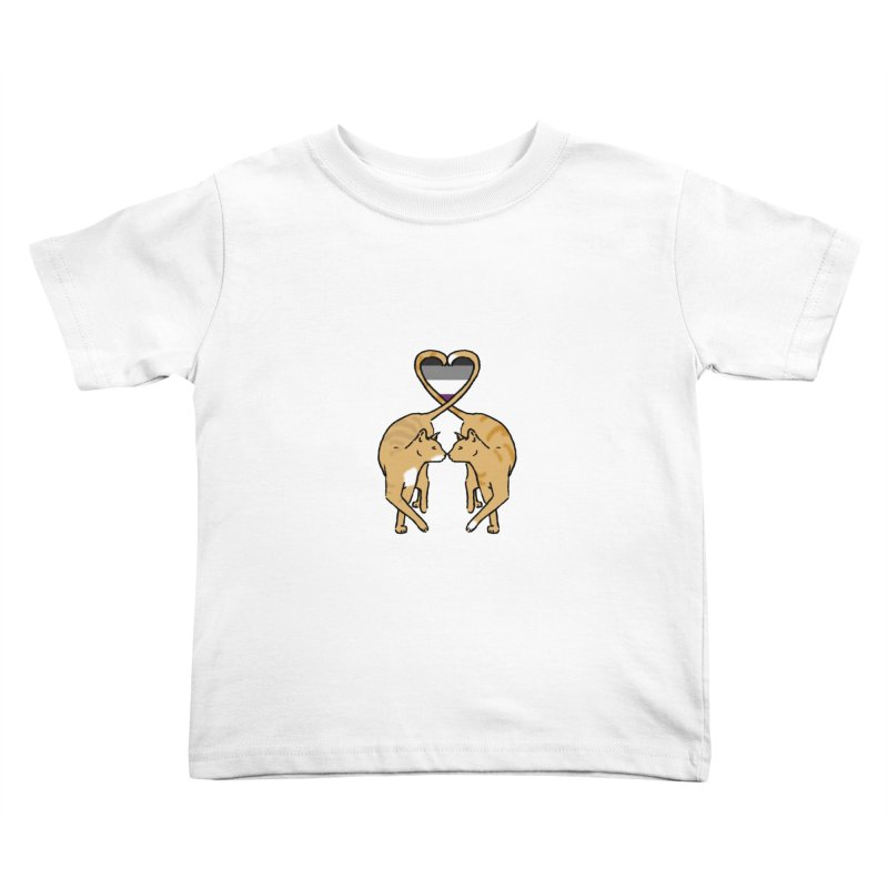 Ace Pride - Love Cats Kids Toddler T-Shirt by alrkeaton's Artist Shop