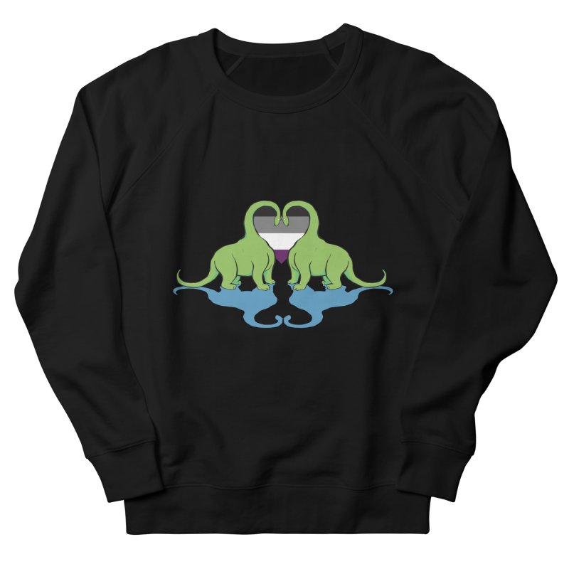Ace Pride - Dino Love   by alrkeaton's Artist Shop