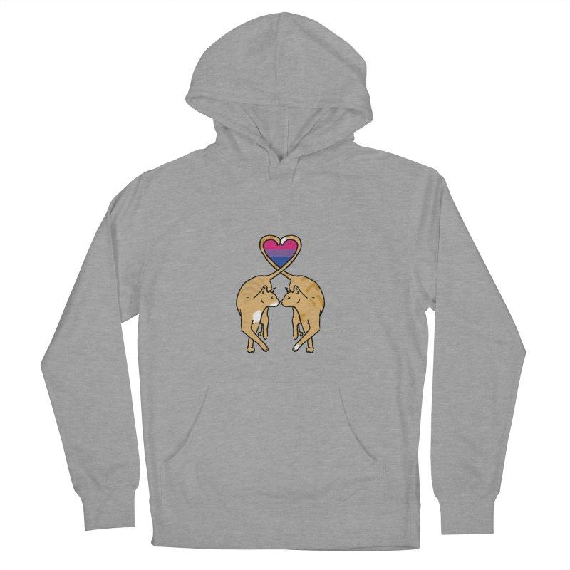 Bi Pride - Love Cats Women's Pullover Hoody by alrkeaton's Artist Shop