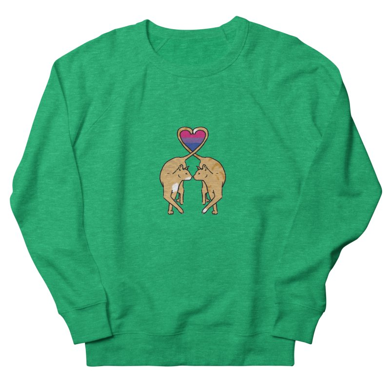 Bi Pride - Love Cats Women's Sweatshirt by alrkeaton's Artist Shop