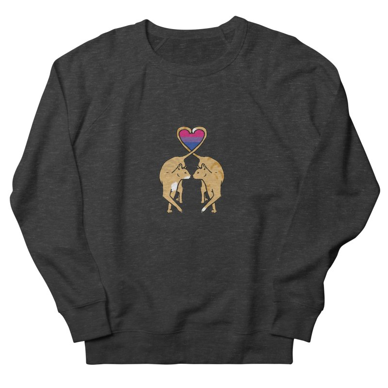 Bi Pride - Love Cats Men's Sweatshirt by alrkeaton's Artist Shop