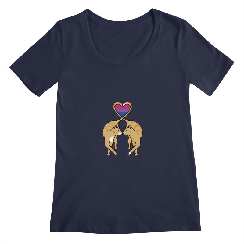 Bi Pride - Love Cats   by alrkeaton's Artist Shop