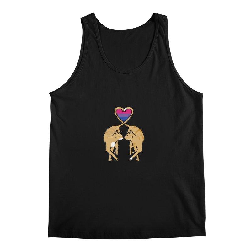 Bi Pride - Love Cats Men's Regular Tank by alrkeaton's Artist Shop