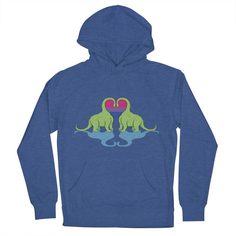 Bi Pride - Dino Love   by alrkeaton's Artist Shop