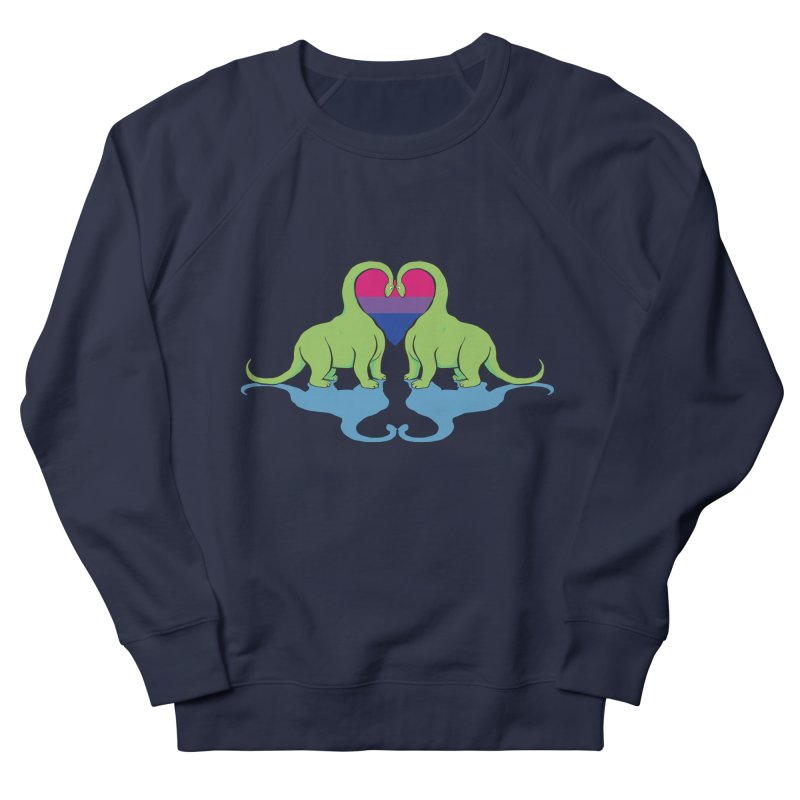 Bi Pride - Dino Love   by alrkeaton's Artist Shop