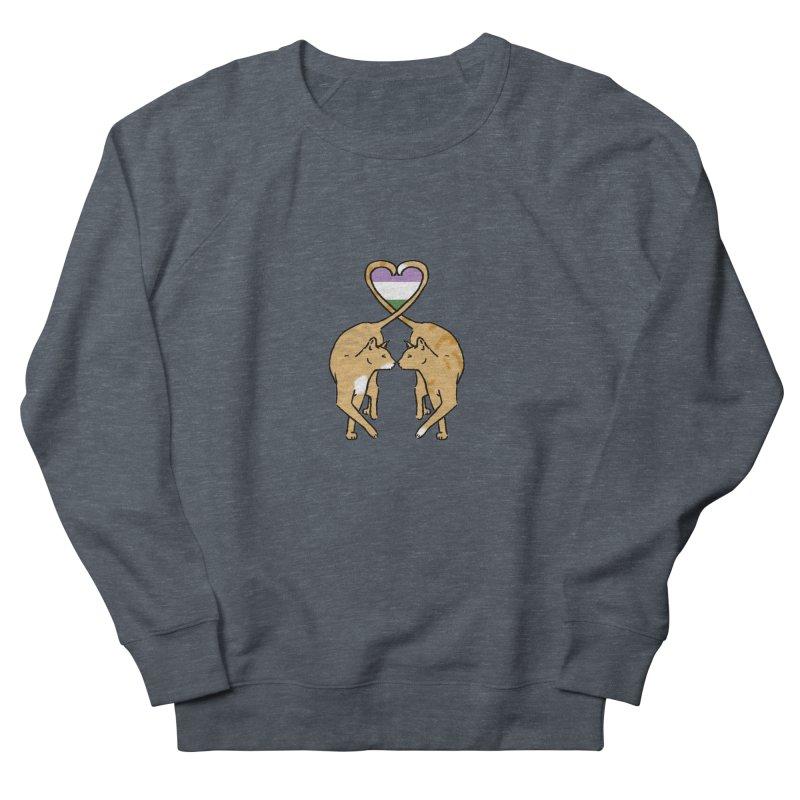 Genderqueer Pride - Love Cats Women's Sweatshirt by alrkeaton's Artist Shop