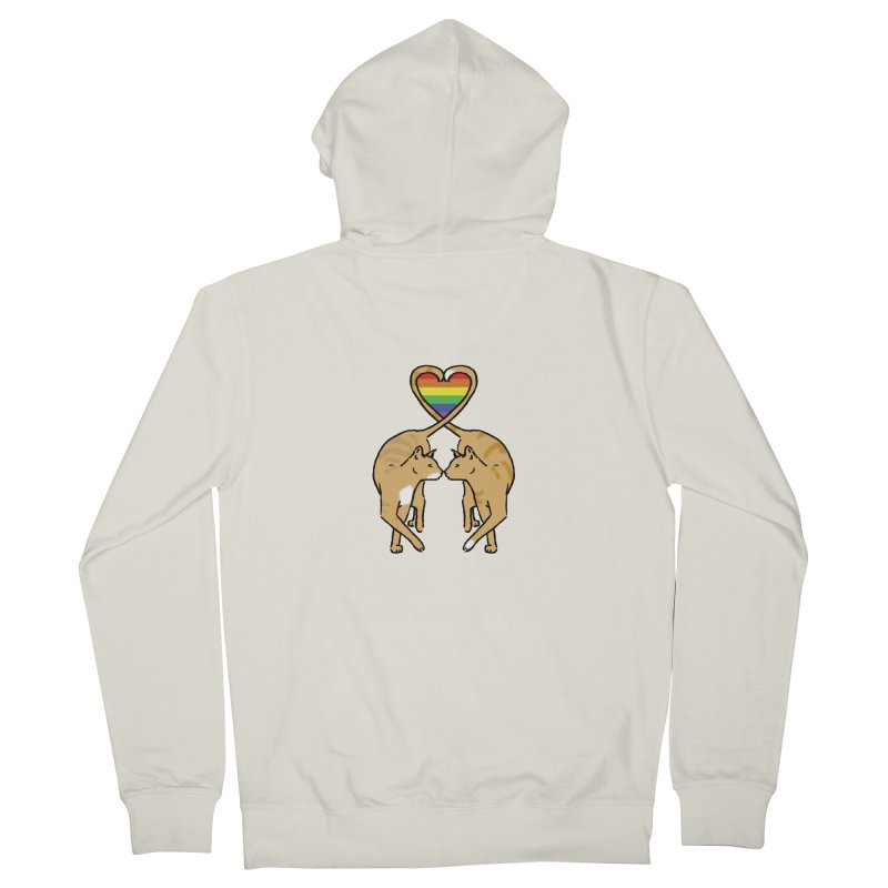 Gay Pride - Love Cats Women's French Terry Zip-Up Hoody by alrkeaton's Artist Shop