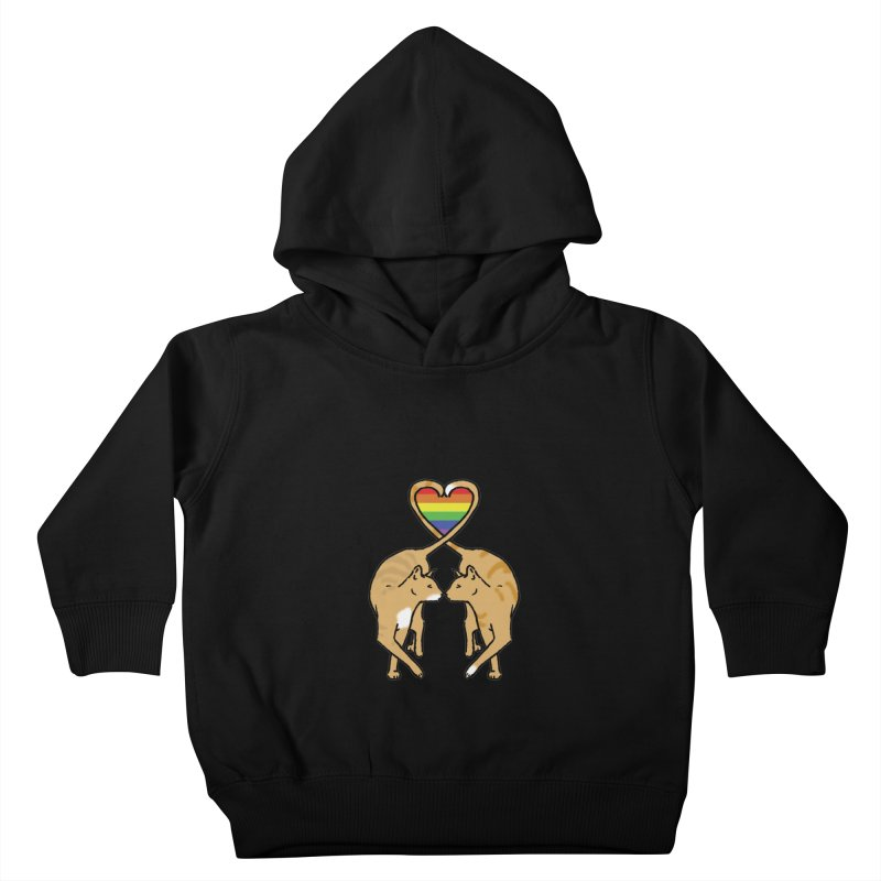 Gay Pride - Love Cats Kids Toddler Pullover Hoody by alrkeaton's Artist Shop