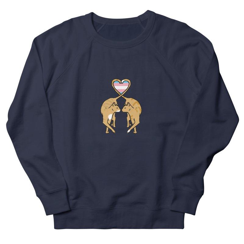 Trans Pride - Love Cats Women's Sweatshirt by alrkeaton's Artist Shop