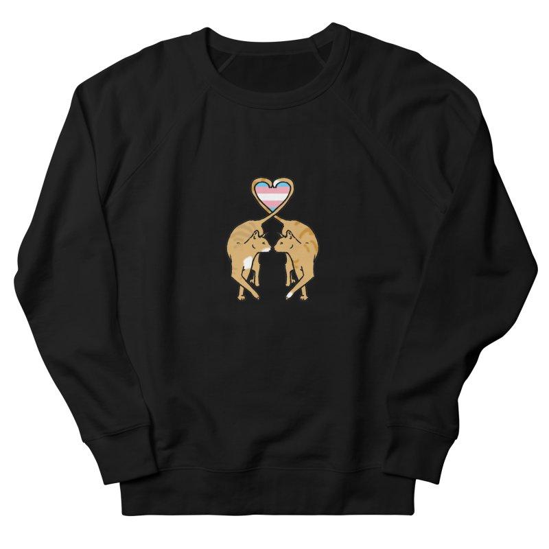 Trans Pride - Love Cats Men's French Terry Sweatshirt by alrkeaton's Artist Shop