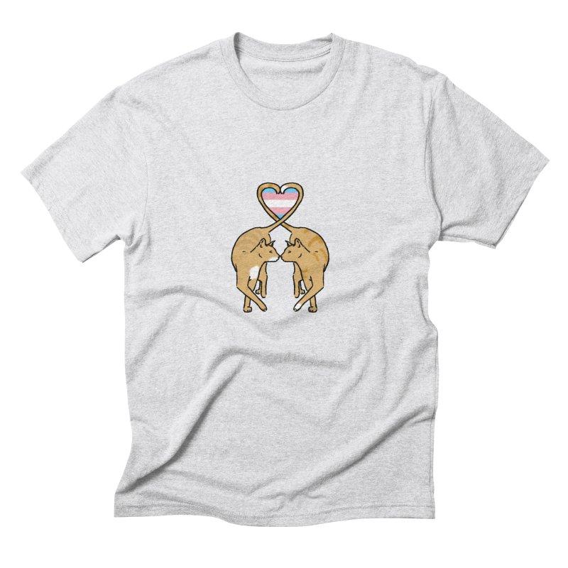 Trans Pride - Love Cats Men's Triblend T-Shirt by alrkeaton's Artist Shop