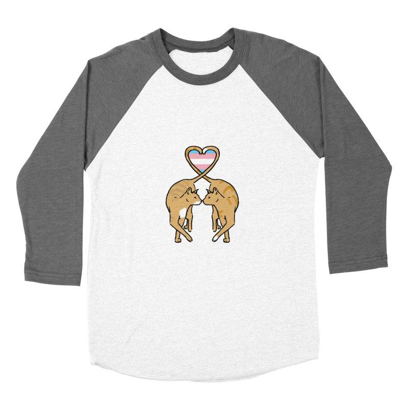 Trans Pride - Love Cats Women's Baseball Triblend T-Shirt by alrkeaton's Artist Shop