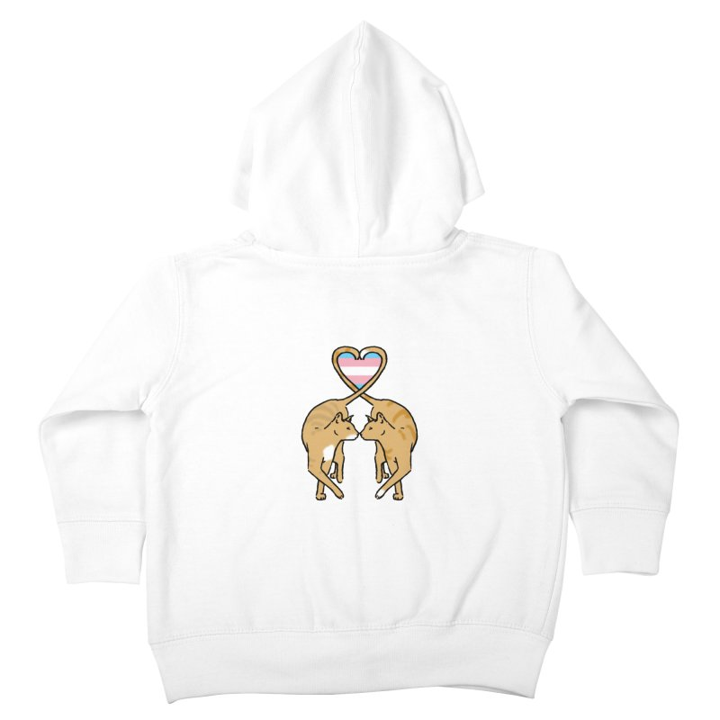 Trans Pride - Love Cats Kids Toddler Zip-Up Hoody by alrkeaton's Artist Shop