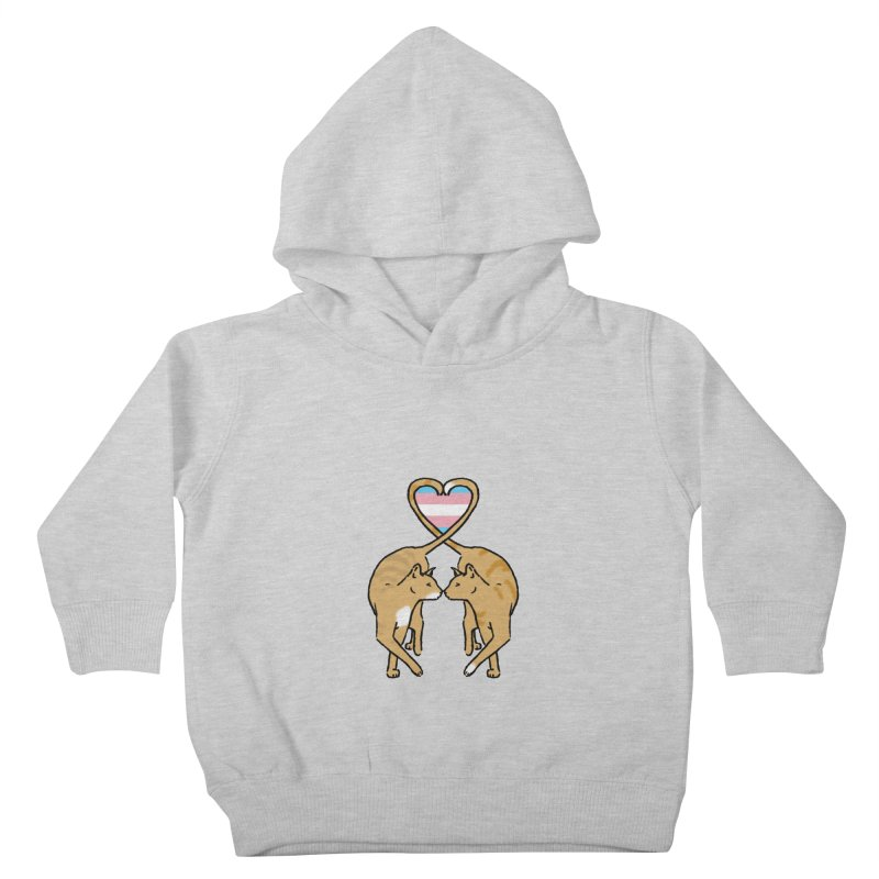 Trans Pride - Love Cats Kids Toddler Pullover Hoody by alrkeaton's Artist Shop