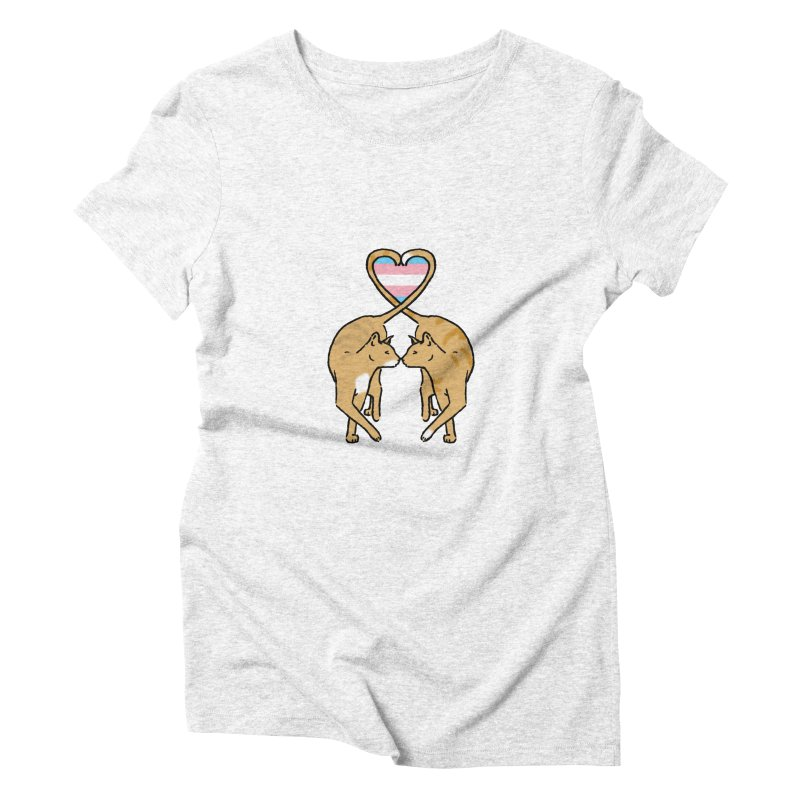 Trans Pride - Love Cats Women's Triblend T-shirt by alrkeaton's Artist Shop