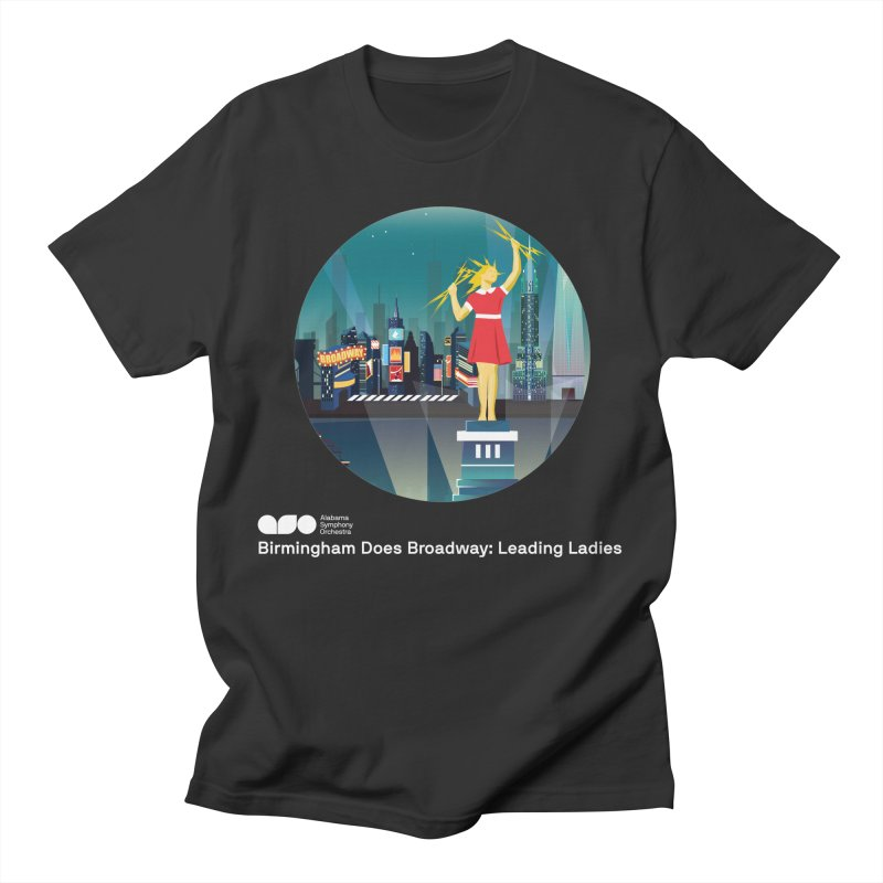 Electra Tee Men's T-Shirt by Alabama Symphony Orchestra Goods & Apparel