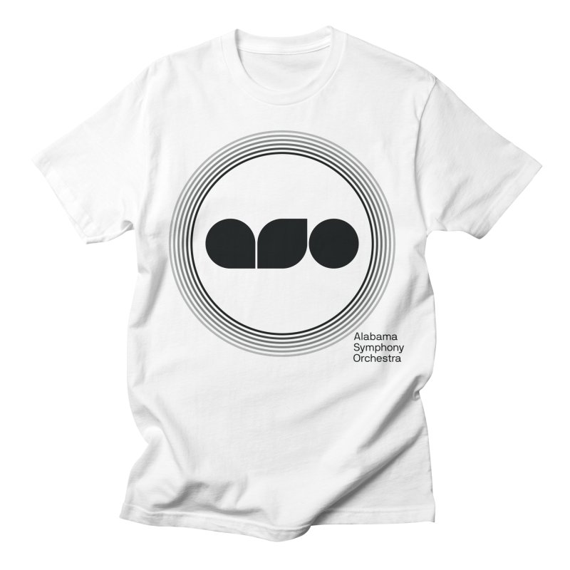 Black 2019 ASO Shirt in Men's Regular T-Shirt White by Alabama Symphony Orchestra Goods & Apparel