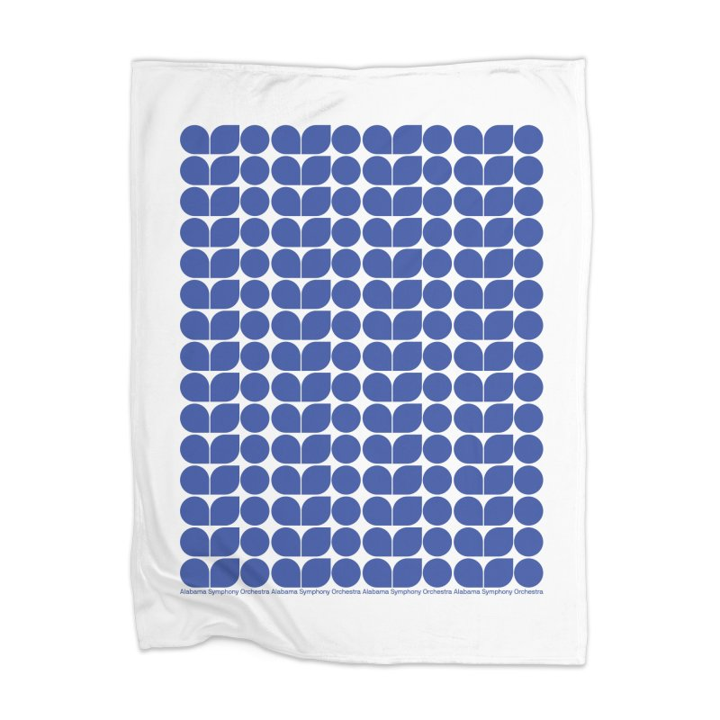 ASO Blue Blanket Home Blanket by Alabama Symphony Orchestra Goods & Apparel