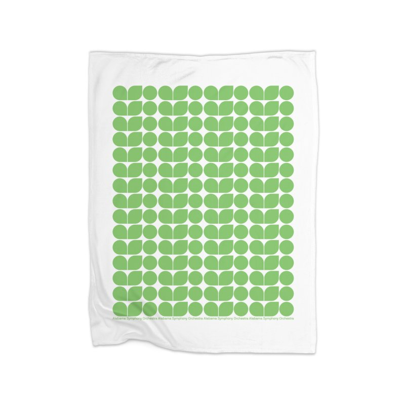 ASO Green Blanket Home Blanket by Alabama Symphony Orchestra Goods & Apparel