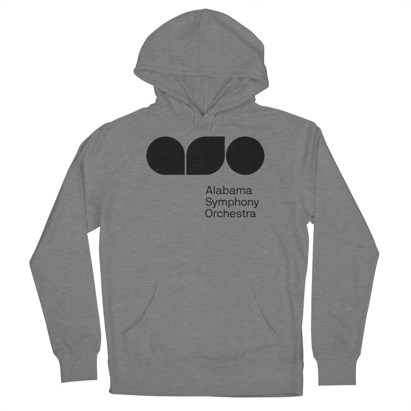 Solid Black Men's Pullover Hoody by Alabama Symphony Orchestra Goods & Apparel