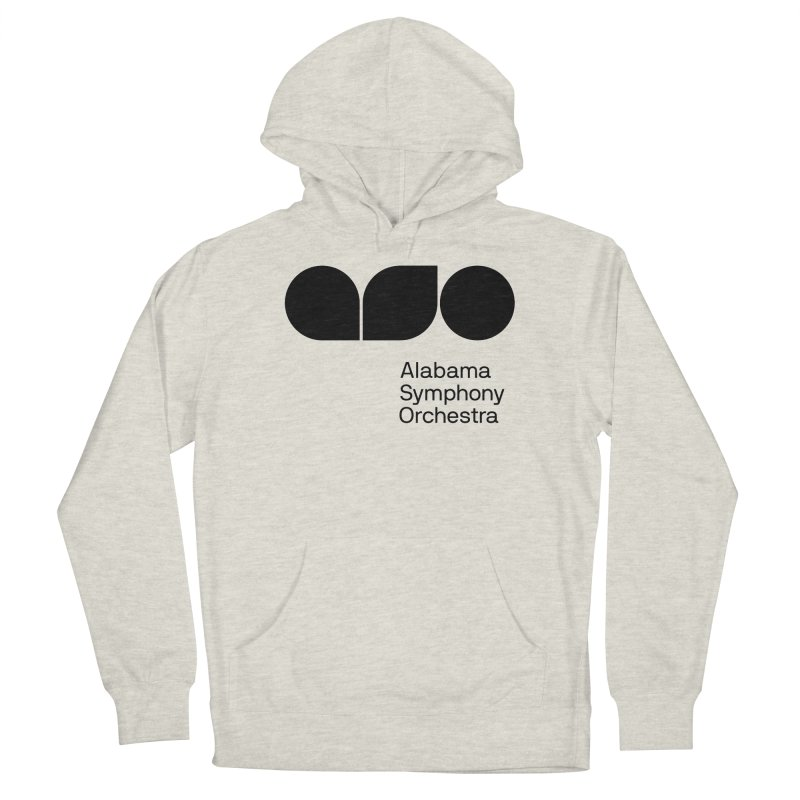 Solid Black Women's Pullover Hoody by Alabama Symphony Orchestra Goods & Apparel