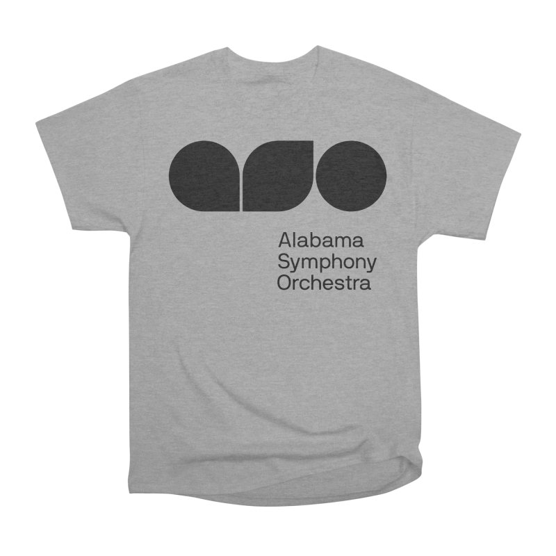 Solid Black Women's Classic Unisex T-Shirt by Alabama Symphony Orchestra Goods & Apparel
