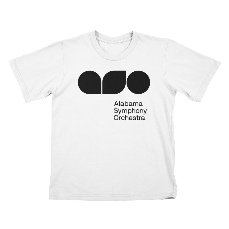 Solid Black Kids T-shirt by Alabama Symphony Orchestra Goods & Apparel