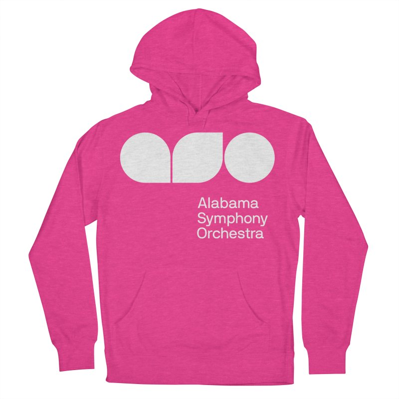 Solid White Women's Pullover Hoody by Alabama Symphony Orchestra Goods & Apparel