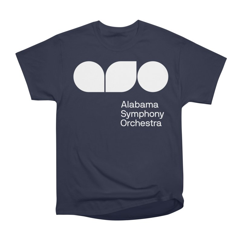 Solid White Women's Heavyweight Unisex T-Shirt by Alabama Symphony Orchestra Goods & Apparel