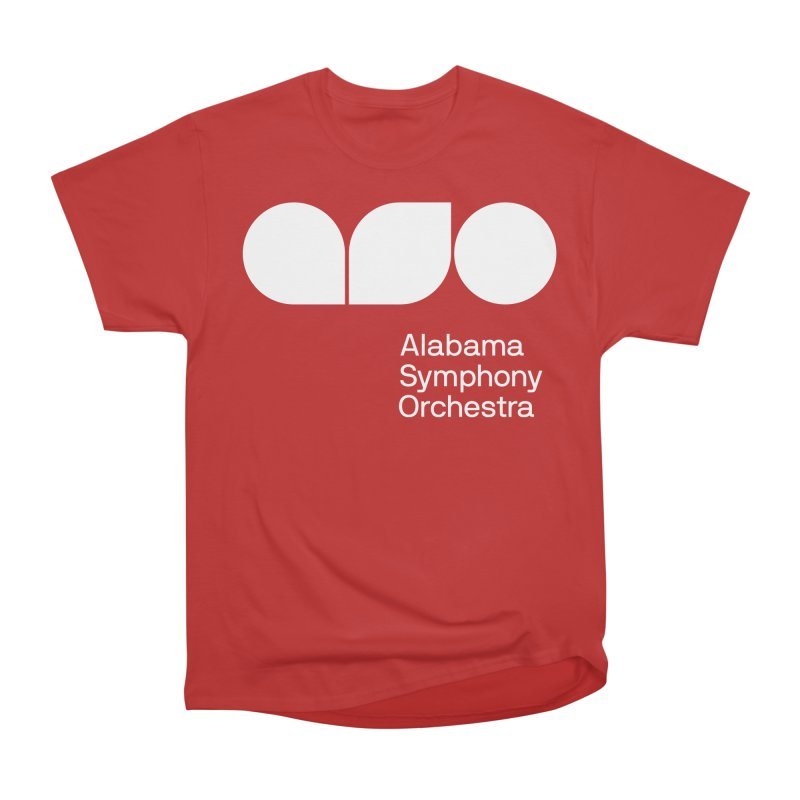 Solid White Men's T-Shirt by Alabama Symphony Orchestra Goods & Apparel