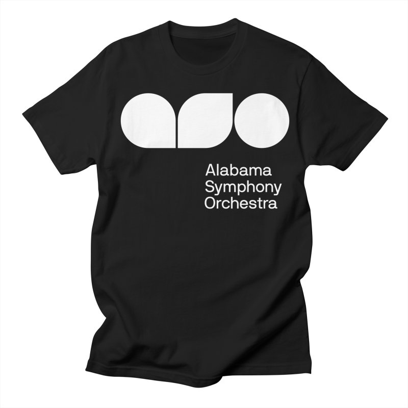 Solid White Women's Unisex T-Shirt by Alabama Symphony Orchestra Goods & Apparel