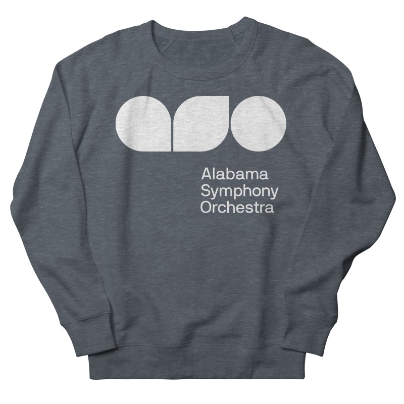 Solid White Women's Sweatshirt by Alabama Symphony Orchestra Goods & Apparel