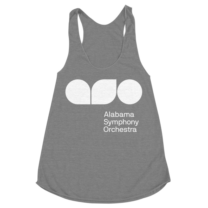 Solid White Women's Tank by Alabama Symphony Orchestra Goods & Apparel