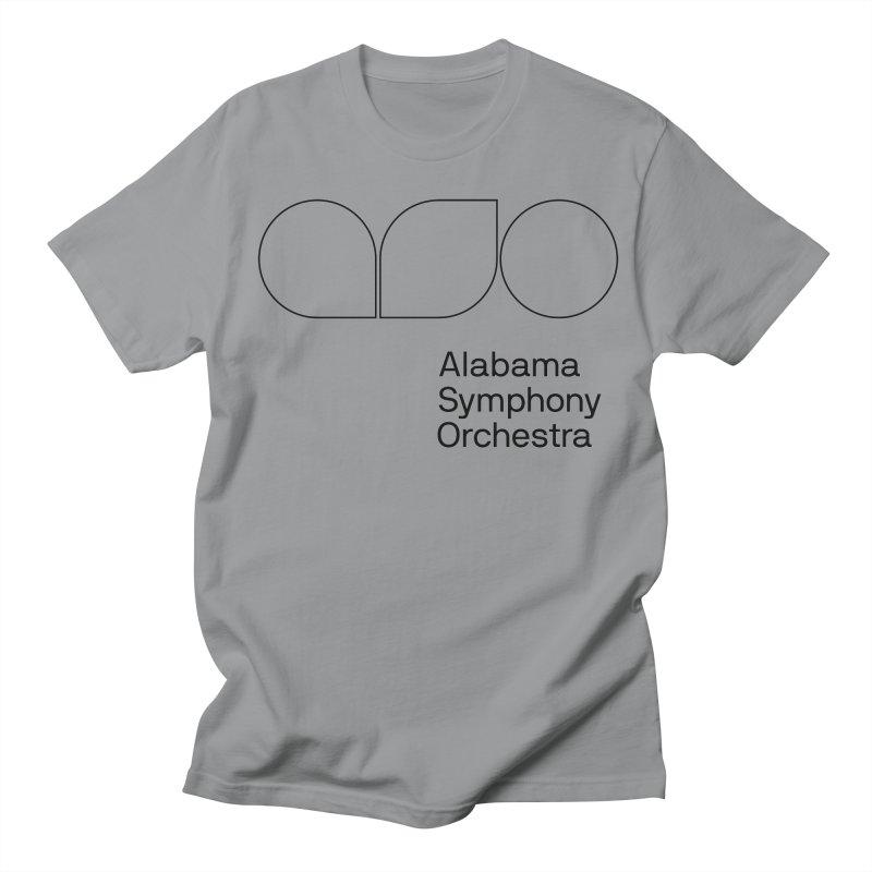 Black Outline Women's Unisex T-Shirt by Alabama Symphony Orchestra Goods & Apparel