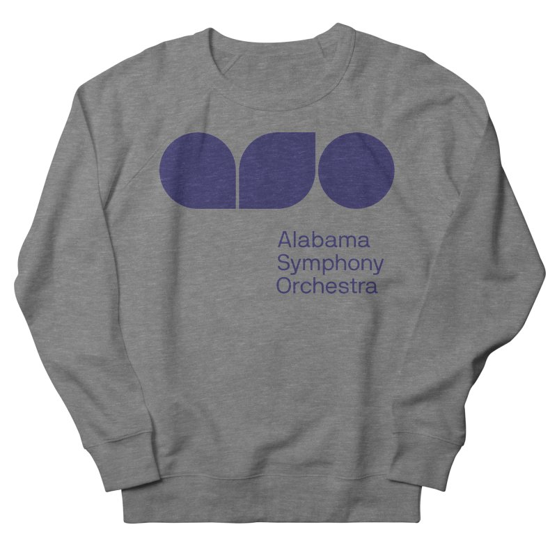 Solid Color Men's French Terry Sweatshirt by Alabama Symphony Orchestra Goods & Apparel