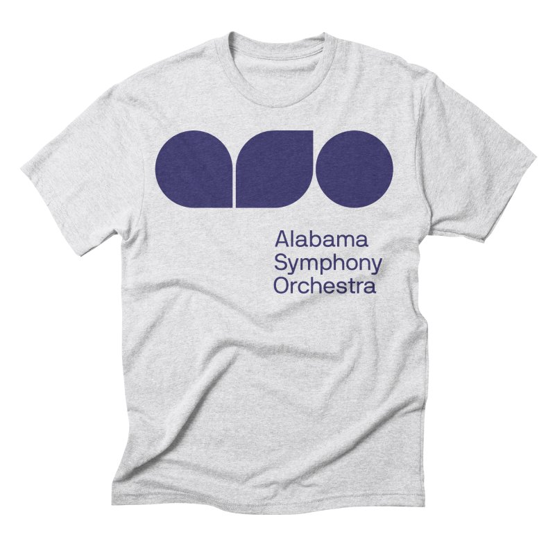 Solid Color Men's Triblend T-Shirt by Alabama Symphony Orchestra Goods & Apparel