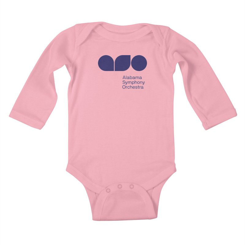 Solid Color Kids Baby Longsleeve Bodysuit by Alabama Symphony Orchestra Goods & Apparel
