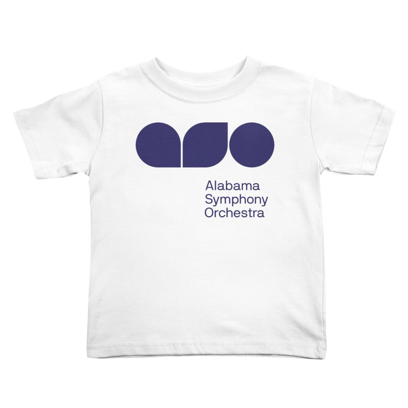 Solid Color Kids Toddler T-Shirt by Alabama Symphony Orchestra Goods & Apparel