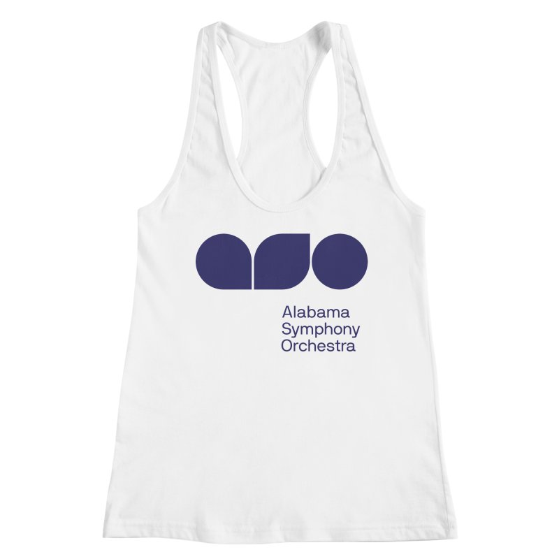 Solid Color Women's Racerback Tank by Alabama Symphony Orchestra Goods & Apparel