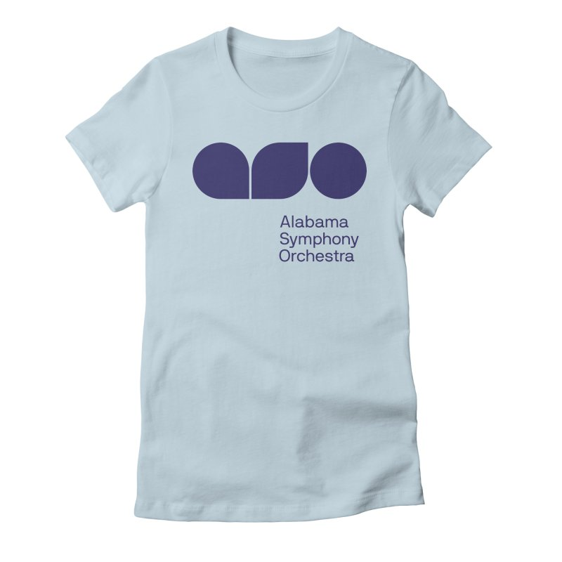 Solid Color Women's T-Shirt by Alabama Symphony Orchestra Goods & Apparel