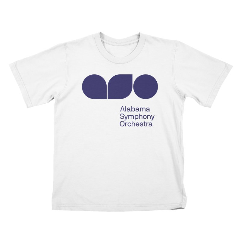 Solid Color Kids T-Shirt by Alabama Symphony Orchestra Goods & Apparel