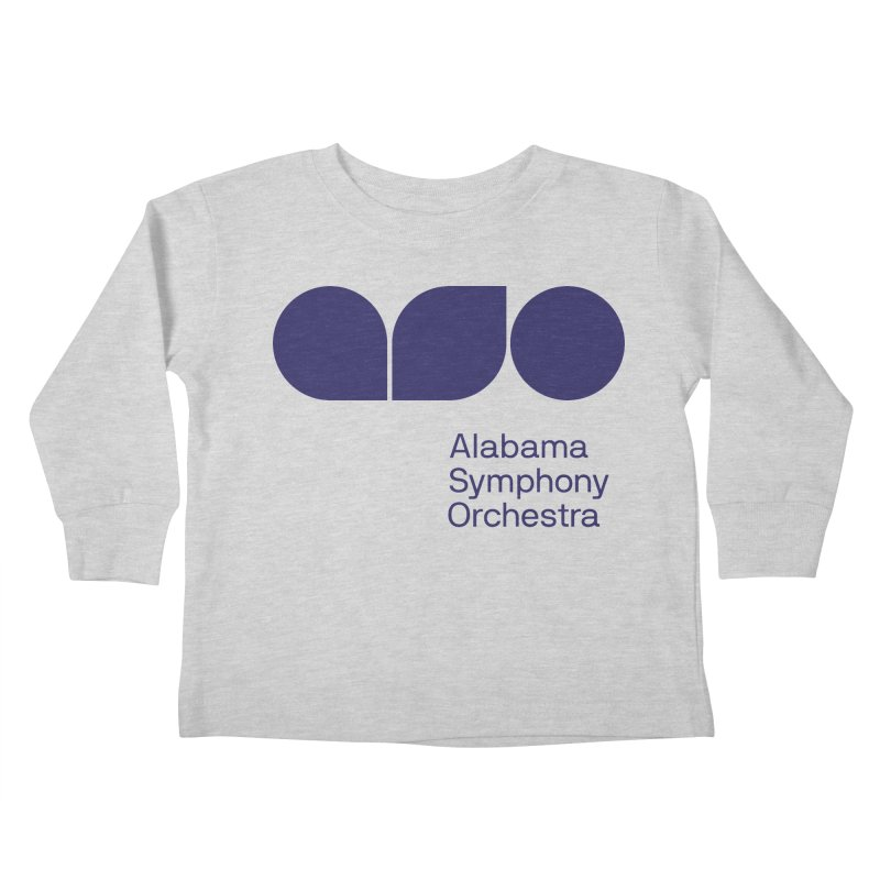 Solid Color Kids Toddler Longsleeve T-Shirt by Alabama Symphony Orchestra Goods & Apparel